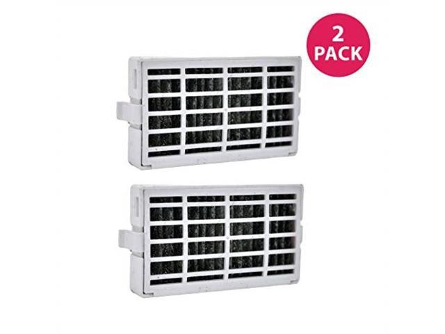 crucial air replacement for whirlpool air1 fresh flow refrigerator air filter, compatible with part # w10311524, 2319308 & w10335147 2 pack photo