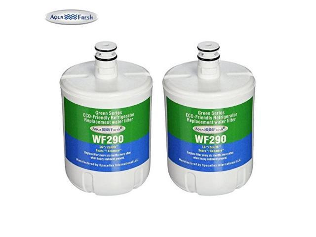 aqua fresh wf290 replacement for lg lt500p and 5231ja2002a pack of 2 photo