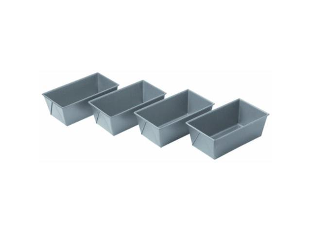 chicago metallic commercial ii nonstick mini loaf pans, set of 4 photo
