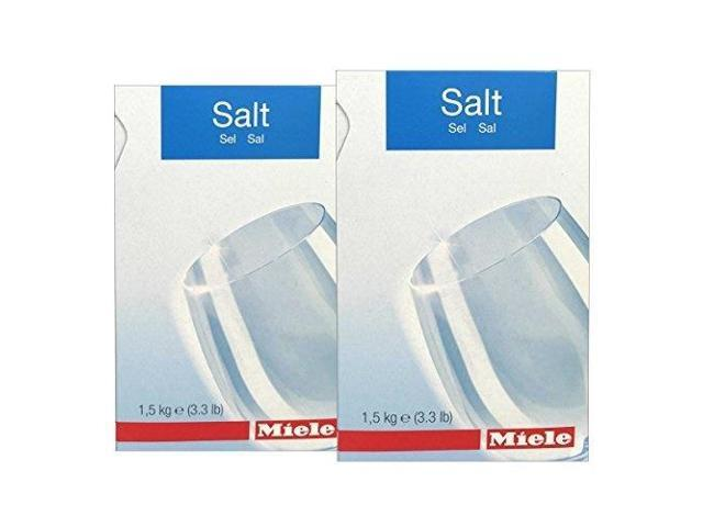 2 pack miele care collection dishwasher reactivation salt 3.3lbs photo