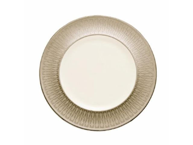 lenox tuxedo platinum ivory china 9inch accent plate photo