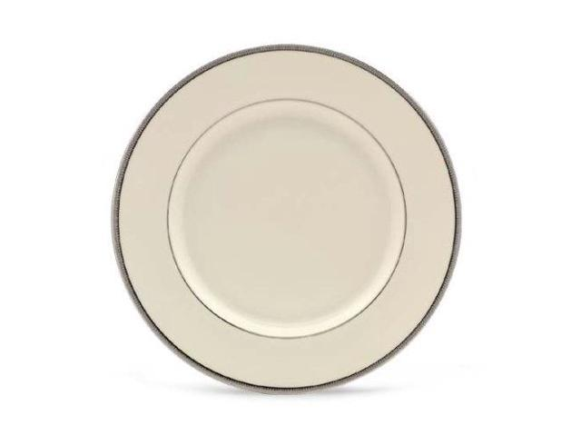 lenox tuxedo platinum ivory china dinner plate photo