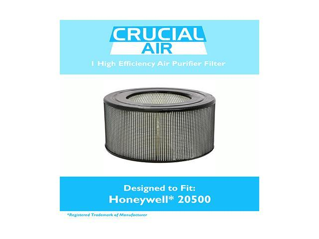 Honeywell 20500 Air Purifier Filter Fits Honeywell Enviracaire Model 10500, EV-10, 17005, 170xx & 83170, Designed & Engineered by Crucial Air photo
