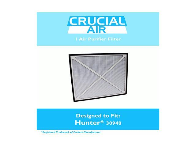 Hunter 30940 Air Purifier Filter Fits Models 30210, 30214, 30215, 30216, 30225, 30260, 30398, 30400 & 30401, Designed & Engineered by Crucial Air photo