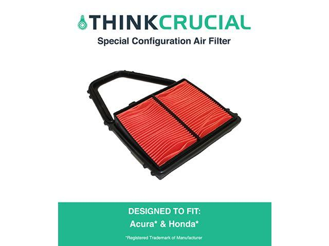 Special Configuration Air Filter Fits Acura EL Canada & Honda Civic, Compare to Part # A35397 & CA8911, Designed & Engineered by Think Crucial photo