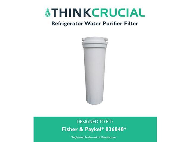 Fisher & Paykel 836848 Refrigerator Water Purifier Filter Fits E402B, E442B, E522B & RF90A180DU, Designed & Engineered by Think Crucial photo