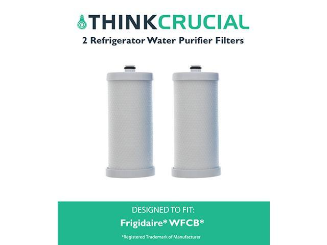 2 Frigidaire WFCB Refrigerator Water Purifier Filter Fits RC101, RC200, RF200, RC-101, RC-200, RF-200, 218710901, 218710902, 218732306, 218904501. photo