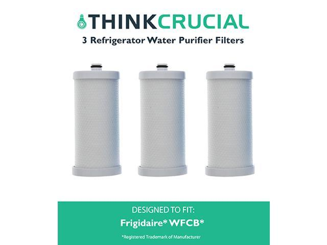 3 Frigidaire WFCB Refrigerator Water Purifier Filter Fits RC101, RC200, RF200, RC-101, RC-200, RF-200, 218710901, 218710902, 218732306, 218904501. photo