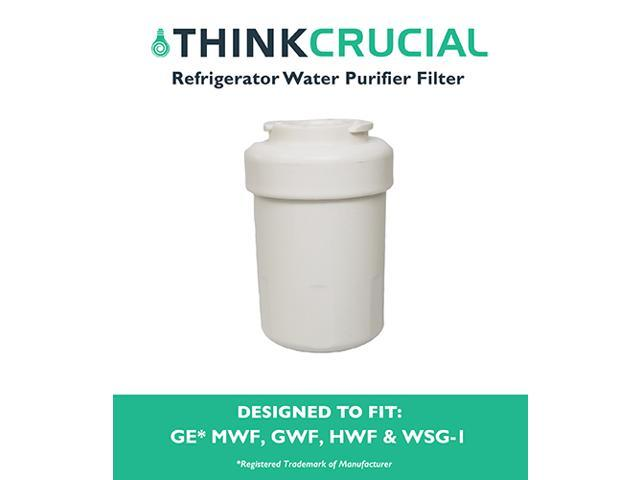 GE Refrigerator Water Purifier Filter Fits GE MWF GWF HWF 46-9991 WSG-1 WF287 & EFF-6013A photo