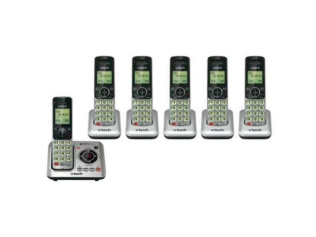 VTech CS6629 DECT 6.0 Technology Digital Answering System w/ 5 Extra CS6609 Handsets (616174262276 Electronics Communications Telephony Cordless Phones) photo