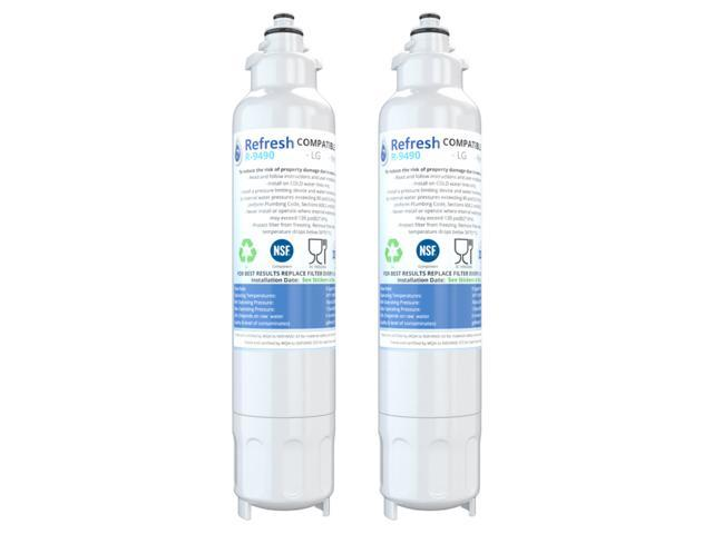Replacement Water Filter Compatible with LG R-9490 Refrigerator Water Filter - by Refresh (2 Pack) photo