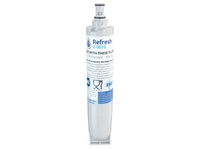 Replacement Water Filter Compatible with Whirlpool 4396508 Refrigerator Water Filter - by Refresh photo