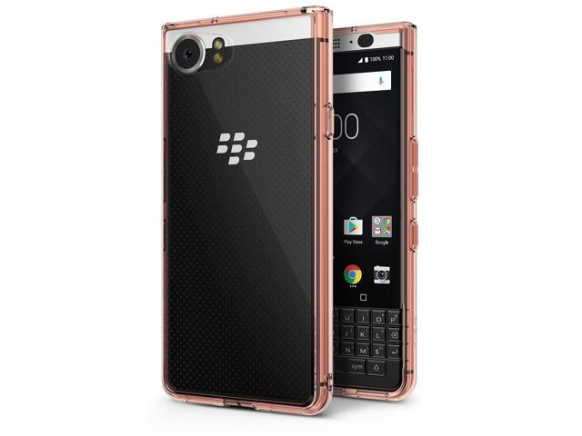 BlackBerry KEYone Case, Ringke [FUSION] Crystal Clear PC Back TPU Bumper [Drop Protection/Shock Absorption Technology] Raised Bezels Protective. (Electronics Communications Telephony) photo