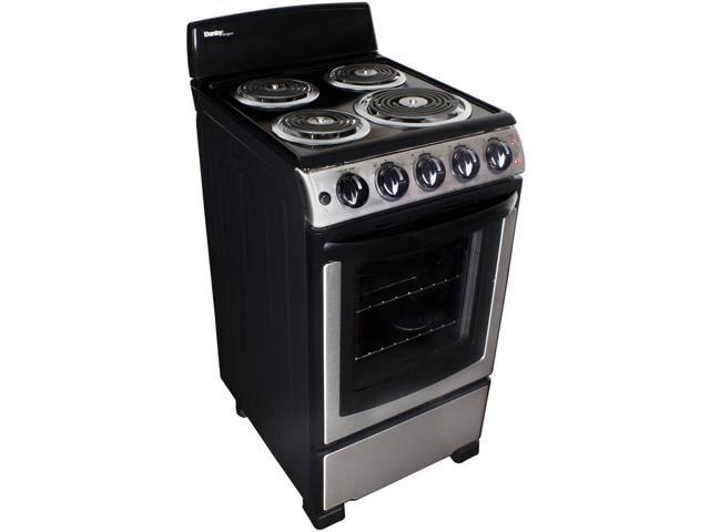 Danby DER202BSS 20 inch Free Standing Coil Stainless Steel Range photo