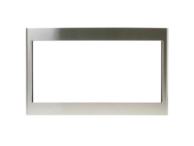 GE JX827SFSS 27 inch Stainless Deluxe Built-in Microwave Trim Kit photo