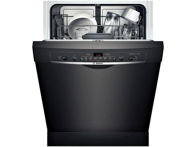 Bosch SHE3AR76UC Ascenta Black Recessed Handle Dishwasher photo