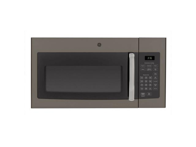G.E. JVM3160EFES 1.6 Cu. Ft. 1000W Slate Over-the-Range Microwave Oven photo