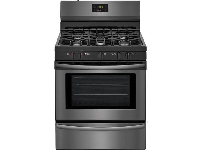 Frigidaire FFGF3052TD 4.2 Cu. Ft. Black Stainless Gas Range photo