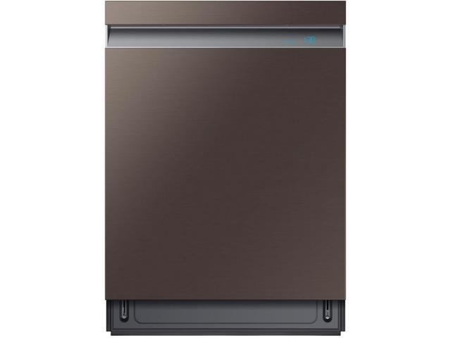 Samsung DW80R9950UT 39 dB Tuscan Stainless Steel Top Controlled Dishwasher photo
