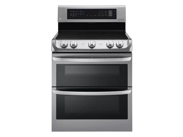 LG LDE4413ST 7.3 Cu. Ft. Double Oven Stainless Steel Electric Range photo