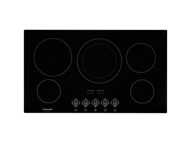 Frigidaire Gallery FGEC3648UB 36 inch Black 5 Burner Electric Cooktop photo