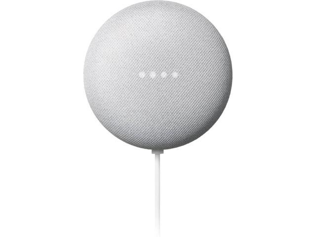 Google Nest Mini 2nd Generation Smart Speaker, Chalk GA00638-US