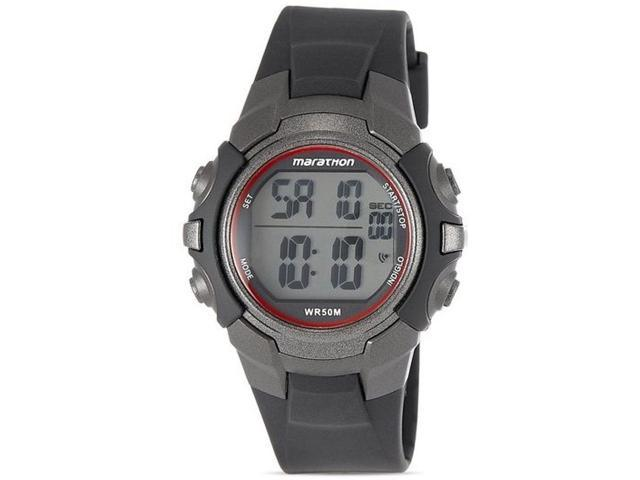 Timex Men's Marathon® by Timex Digital Full-Size Black Watch T5K642