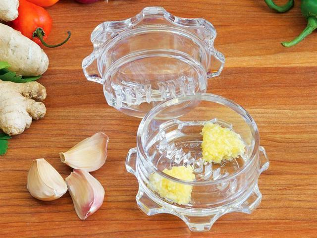 NexTrend Garlic Twist Mincer, Clear photo