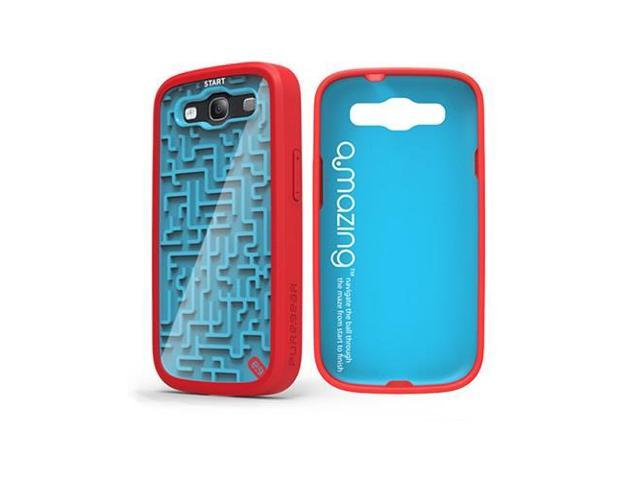 Blue/Red PureGear A-MAZE-ING Retro Gamer Protective Cover Case Samsung Galaxy S3 photo