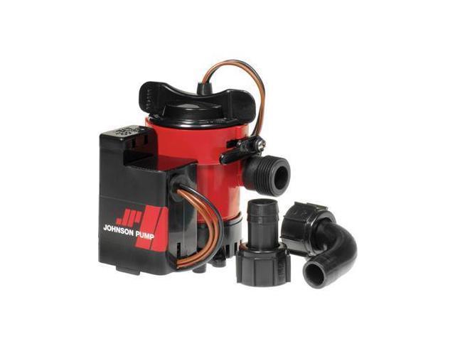 Johnson Pump Cartridge Combo 1000GPH Auto Bilge Pump w/Switch - 12VJohnson Pump - 05903-00 photo