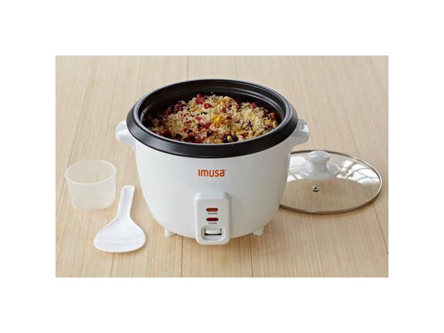 IMUSA GAU-00012 White 5-Cup Rice Cooker photo