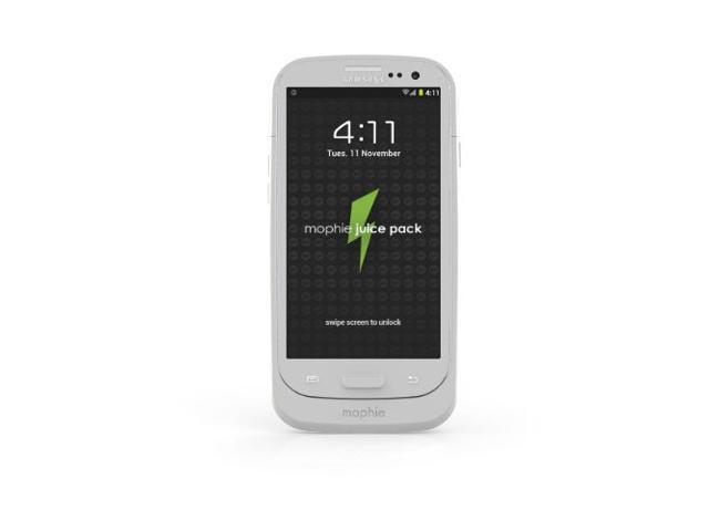 mophie Juice Pack Battery Case for Samsung Galaxy S III - White photo