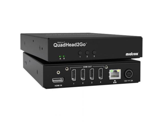 Matrox QuadHead2Go Q155 Multi-Monitor Controller Appliance Q2GH4K photo
