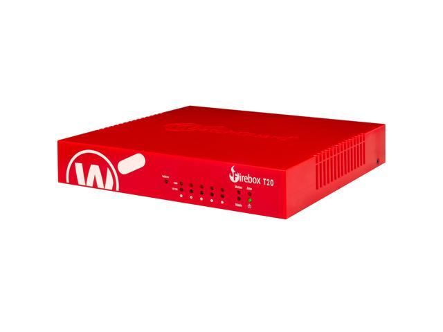 WatchGuard Firebox T20 Network Security/Firewall Appliance - 5 Port - 1000Base-T - Gigabit Ethernet - 5 x RJ-45 - 1 Year Standard Support (WW) . photo