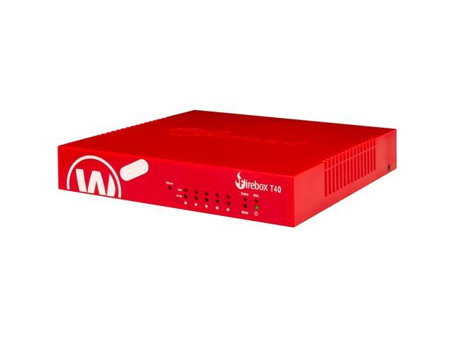 WatchGuard Firebox T40 Network Security/Firewall Appliance - 5 Port - 1000Base-T - Gigabit Ethernet - 4 x RJ-45 - 1 Year Standard Support (US) . photo