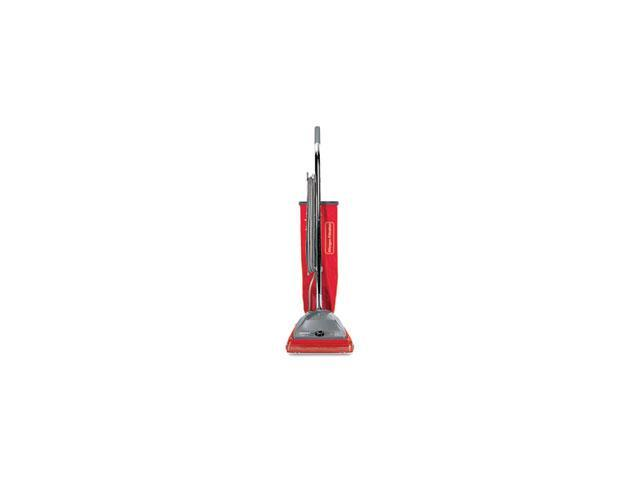 Commercial Standard Upright Vacuum, 19.8 lbs, Red/Gray photo