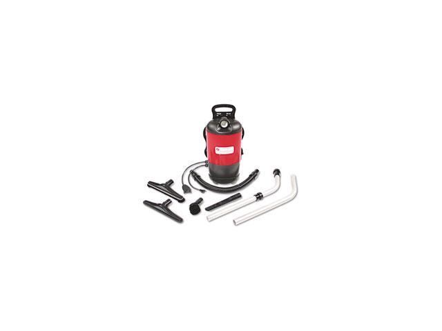 Commercial Backpack Vacuum, 11.5 lbs, Red photo