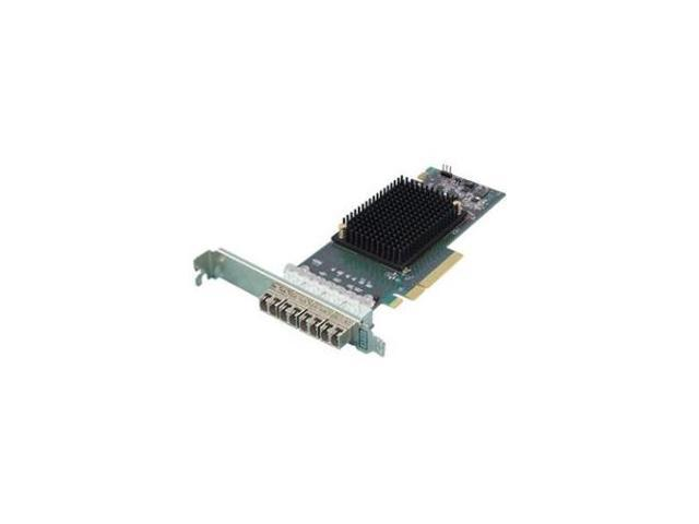 ATTO TECHNOLOGY CTFC-164P-000 QUAD CHANNEL X8 PCIE 3.0 TO (603175008736 Electronics Computer Components Storage Devices) photo