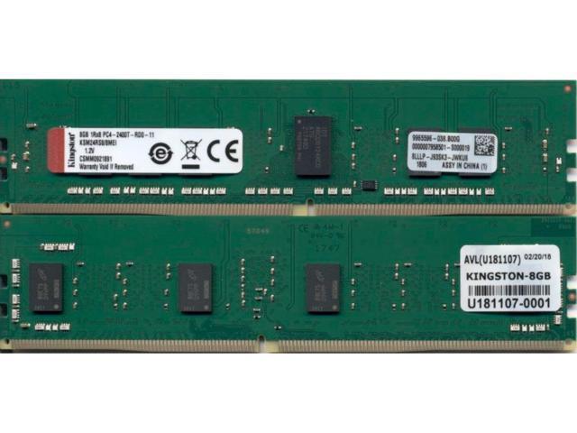 Kingston Technology Corp. KSM24RS8/8MEI Kingston ME KSM24RS8 8MEI 8GB 2400MHz DDR4 ECC Reg CL17 DIMM 1Rx8 Micron E IDT (235280754576 Electronics Memory Ram) photo