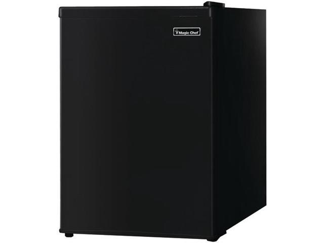 Magic Chef MCBR240B1 2.4 Cu Ft Refrigerator with Manual Defrost, Black photo
