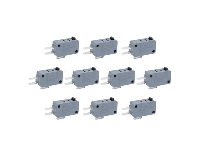 12 Pcs Universal Microwave Oven Freezer Micro Switch KW8 Series AC/DC 125V 250V photo