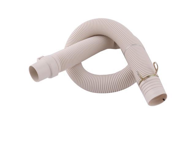2.6Ft Length PVC Washing Machine Drain Discharge Hose Pipe Connector Beige photo