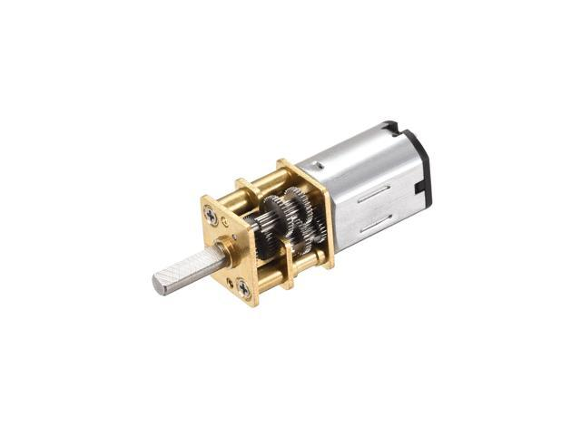 DC6V 21RPM Micro Gear Box Motor Silent Reducer Large Torque 12GAN30 for DIY Engine Toy, Home Appliance, RC Car, Boat photo