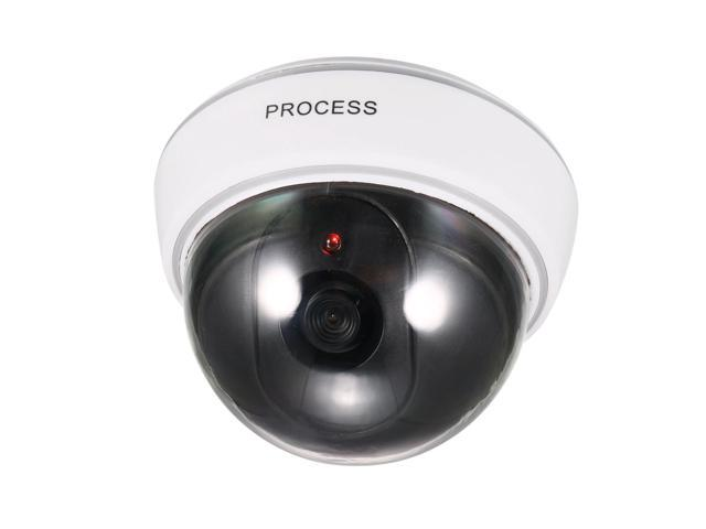 10 Dummy Fake Dome Security Camera Blinking LED Flashing Light CCTV Surveillance