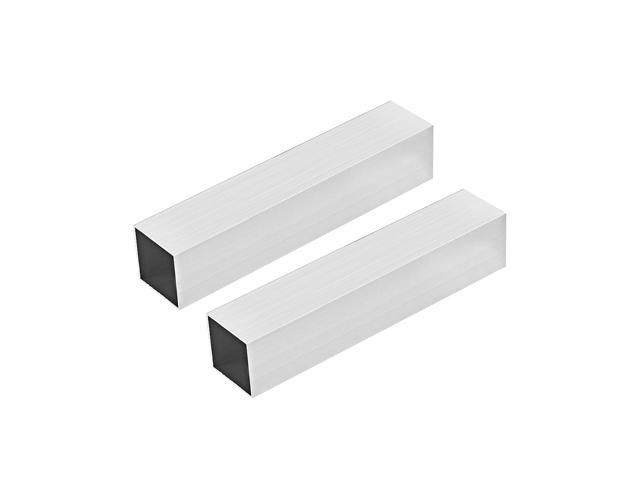 "2/"" Aluminum Square Tube 6063 T5 .250/"" wall x 36/"""