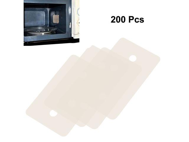 200 Pcs Microwave Oven Mica Plates Sheets Repair Part 24mm x 39mm x 0.2mm photo