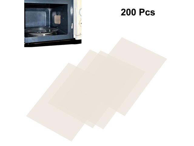 200pcs Microwave Oven Mica Plates Sheets Repair Part 22mm x 29mm x 0.1mm photo