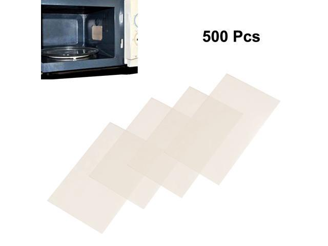 500pcs Microwave Oven Mica Plates Sheets Repair Part 24mm x 39mm x 0.1mm photo
