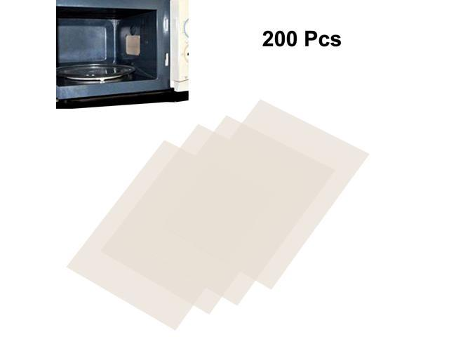 200pcs Microwave Oven Mica Plates Sheets Repair Part 18mm x 22mm x 0.08mm photo