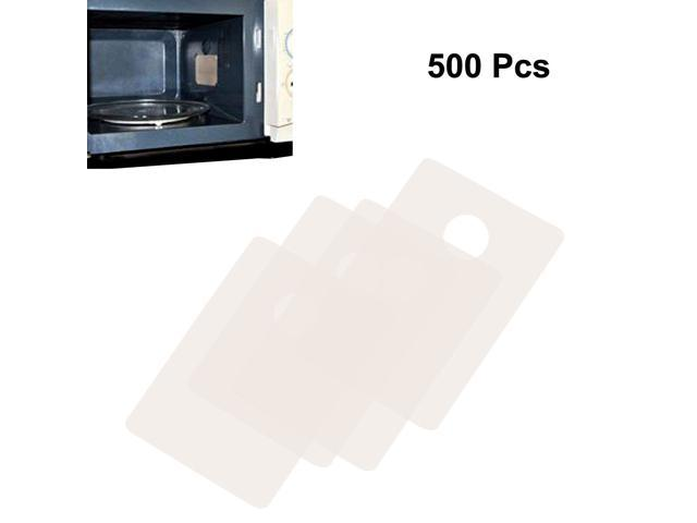 500pcs Microwave Oven Mica Plates Sheets Repairing Part 13mm x 18mm x 0.1mm photo